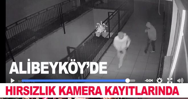 Alibeyköy'de Hırsızlık Görüntüleri