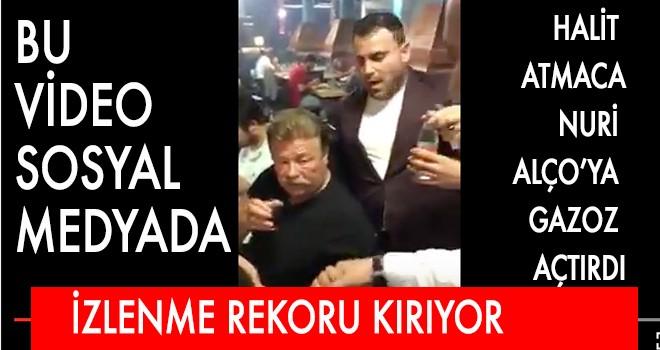 HALİT  ATMACA NURİ  ALÇO'YA  GAZOZ  AÇTIRDI