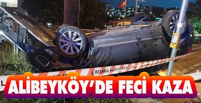 ALİBEYKÖY'DE FECİ KAZA