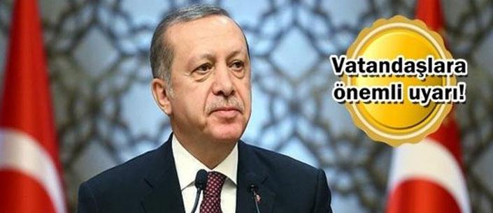 Cumhurbaşkanı'ndankentsel dönüşüm çağrısı!