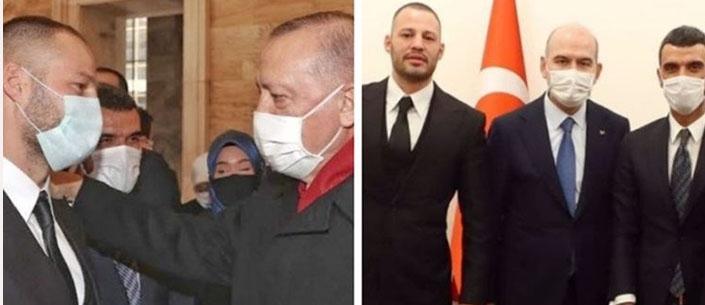 Eyüpsultanlı Avatar Atakan Cumhurbaşkanı ve Soylu ile görüştü