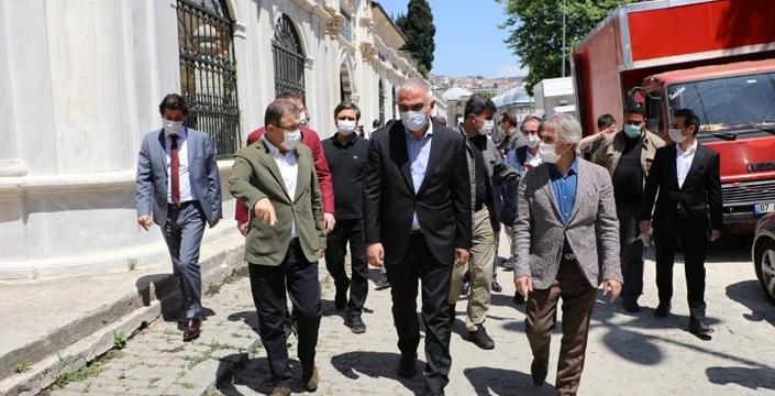 Kültür Ve Turizm Bakanı Eyüpsultan'a Geldi