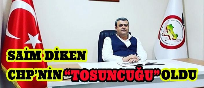 """SAİM DİKEN CHP'NİN """"TOSUNCUĞU"""" OLDU"""